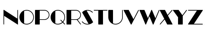 Better Book Regular Font UPPERCASE