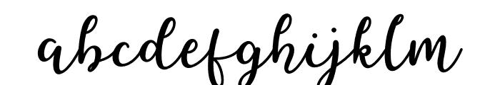 Better Caramel Font LOWERCASE