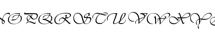 Better Off 1 Font UPPERCASE