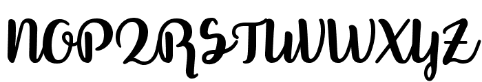 Better Phoenix Sample Font UPPERCASE