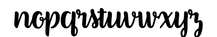 Better Phoenix Sample Font LOWERCASE