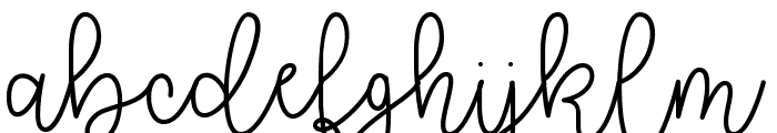 Better Together Demo Font LOWERCASE