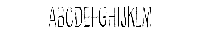 Better get ready Font UPPERCASE