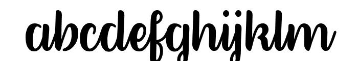 BetterPhoenixSample Font LOWERCASE
