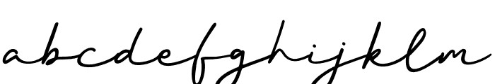 BetterSignature Font LOWERCASE