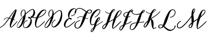 BettilafeaDemo Font UPPERCASE