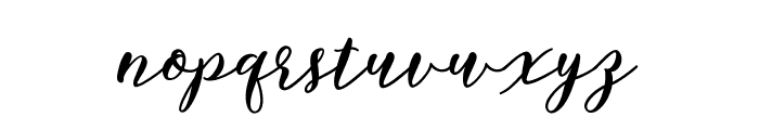 BettilafeaDemo Font LOWERCASE