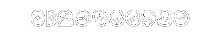 BettyHomemakerRegular Font OTHER CHARS