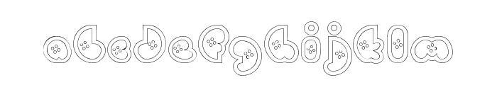 BettyHomemakerRegular Font LOWERCASE
