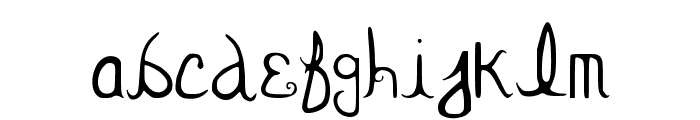 BevTBoo Font LOWERCASE