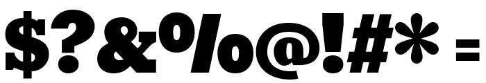 Bevan Regular Font OTHER CHARS
