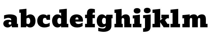 Bevan Regular Font LOWERCASE