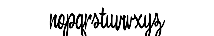 Bewicked Font LOWERCASE