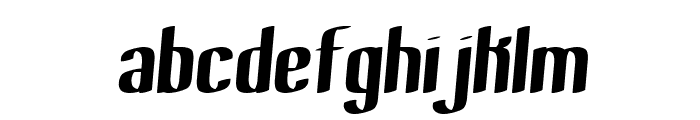 Bewilder Thick BRK Font LOWERCASE
