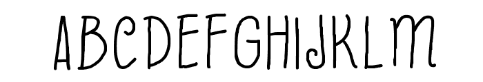 Beyond Blackboard Font UPPERCASE