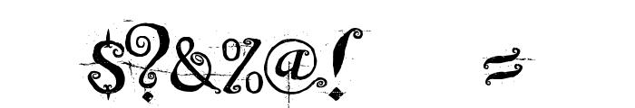 Beyond Wonderland Font OTHER CHARS