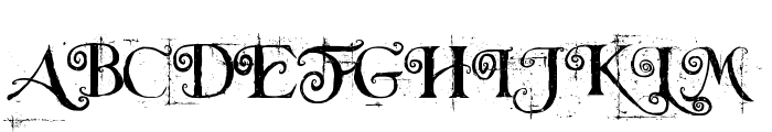 Beyond Wonderland Font UPPERCASE