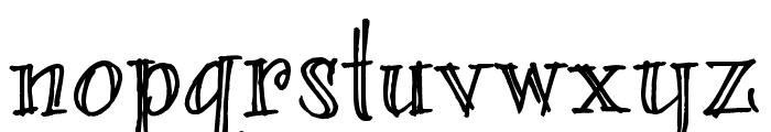 bearerFond Font LOWERCASE
