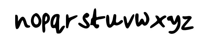 beccasfont Font LOWERCASE