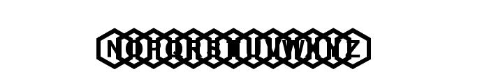 beecity Font UPPERCASE