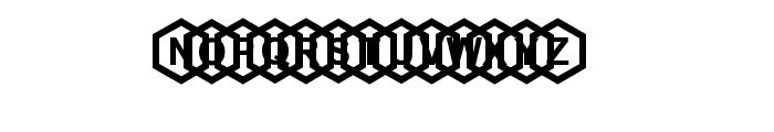 beecity Font LOWERCASE