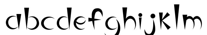 belindaRGUEZ Font LOWERCASE