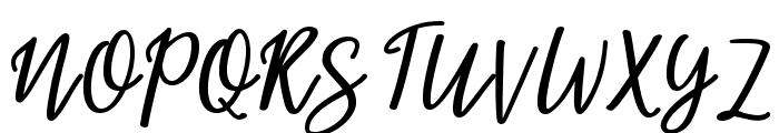 beloved Font UPPERCASE