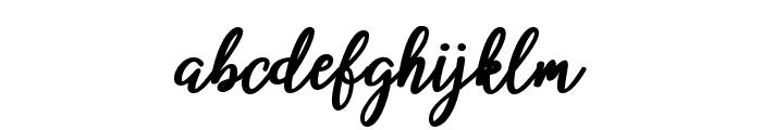 beloved Font LOWERCASE