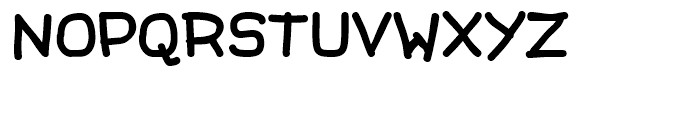 Beanstalk Regular Font UPPERCASE