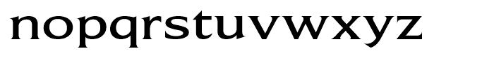 Beaufort Extended Medium Font LOWERCASE