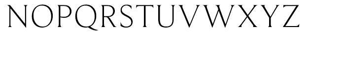 Beaufort Light Font UPPERCASE