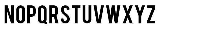 Bebas Font LOWERCASE