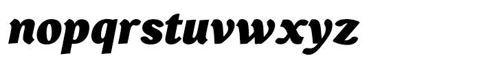 Bebop Black Italic Font LOWERCASE