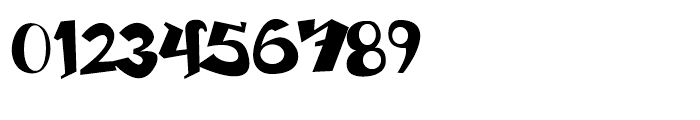 Beckasin Regular Font OTHER CHARS