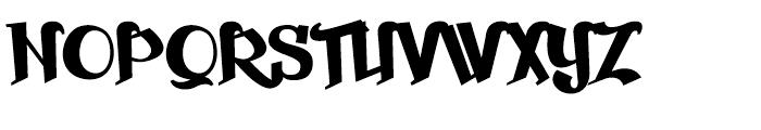 Beckasin Regular Font UPPERCASE
