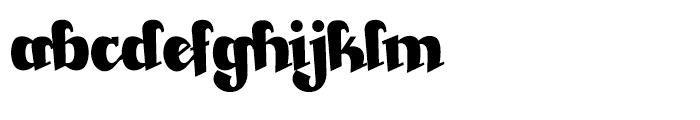 Beckasin Regular Font LOWERCASE