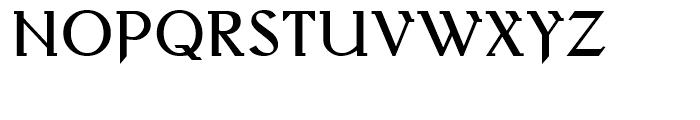 Behrens Antiqua Regular Font UPPERCASE