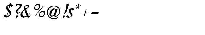 Behrens Kursiv Regular Font OTHER CHARS