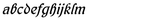 Behrens Kursiv Regular Font LOWERCASE