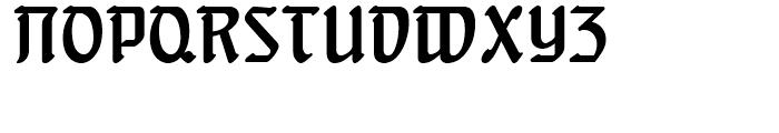 Behrens Schrift Regular Font UPPERCASE