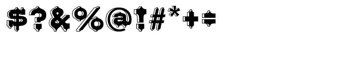 Belgian Regular Font OTHER CHARS
