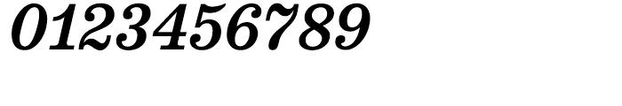 Belizio Medium Italic Font OTHER CHARS