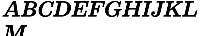Belizio Medium Italic Font UPPERCASE
