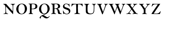 Bell Semi Bold SmallCaps Font UPPERCASE
