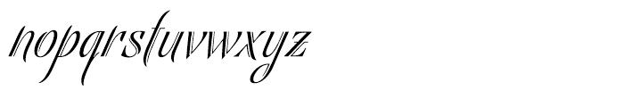 Bellas Artes Regular Font LOWERCASE