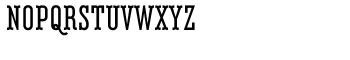 Belleville FY 13H Bold Font UPPERCASE