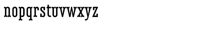 Belleville FY 13H Bold Font LOWERCASE