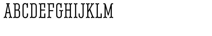 Belleville FY 13H Regular Font UPPERCASE