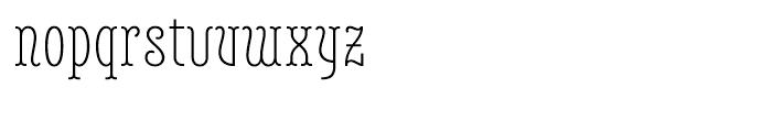 Belleville FY 23H Light Font LOWERCASE
