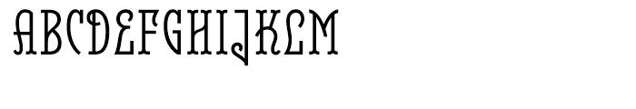 Belleville FY 23H Regular Font UPPERCASE